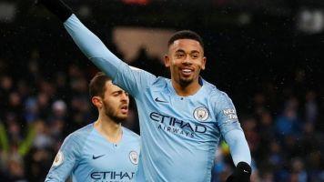 Manchester City vs Everton: Gabriel Jesus finds form as Pep Guardiola's side regain Premier League lead