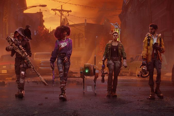 'Redfall' game characters walking