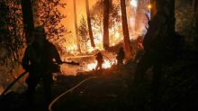 California wildfires threaten towns, wineries in dangerous weekend