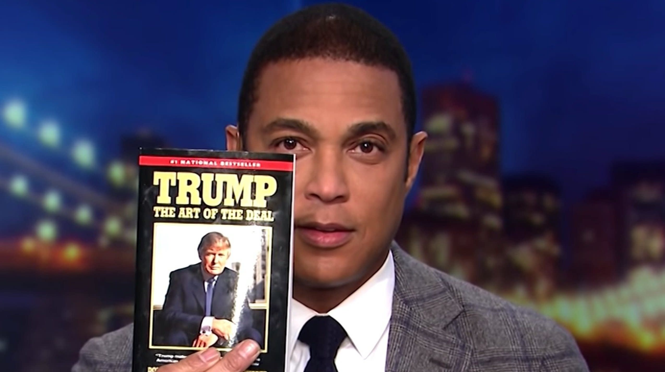 Don Lemon Trolls Trump With Negotiating Tips From 'The Art Of The Deal'