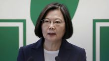 Taiwan president says drills show China is threat to region