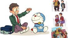 《多啦A夢》中學時代圖日本熱傳  大雄玩伴各散東西