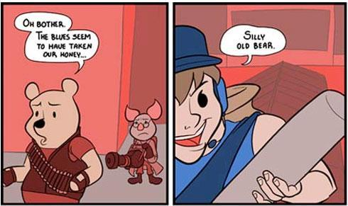 Readers pick best webcomic: Team Fortress Pooh