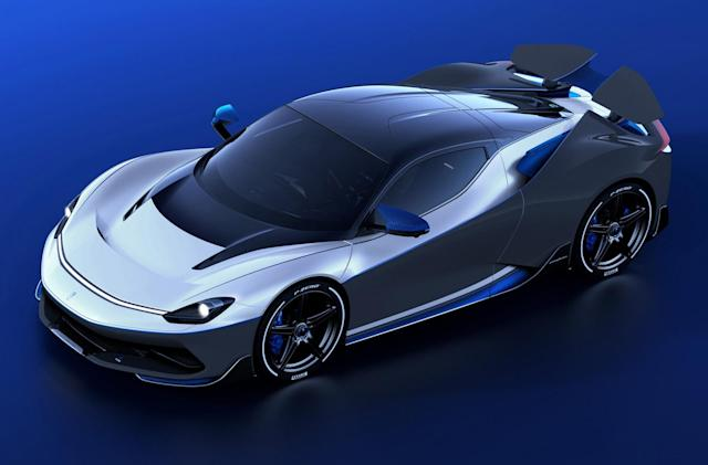 Pininfarina debuts ultra-rare $2.9 million version of its electric hypercar