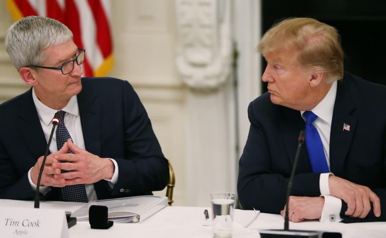 La amenaza de Trump a Apple pondría en riesgo a todos los iPhone del mundo