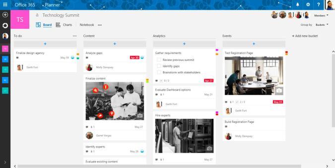 Microsoft releases task tracking Planner app for Office 365