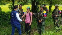 Un secuestrado en poder de las disidencias de las FARC es liberado en el noreste de Colombia