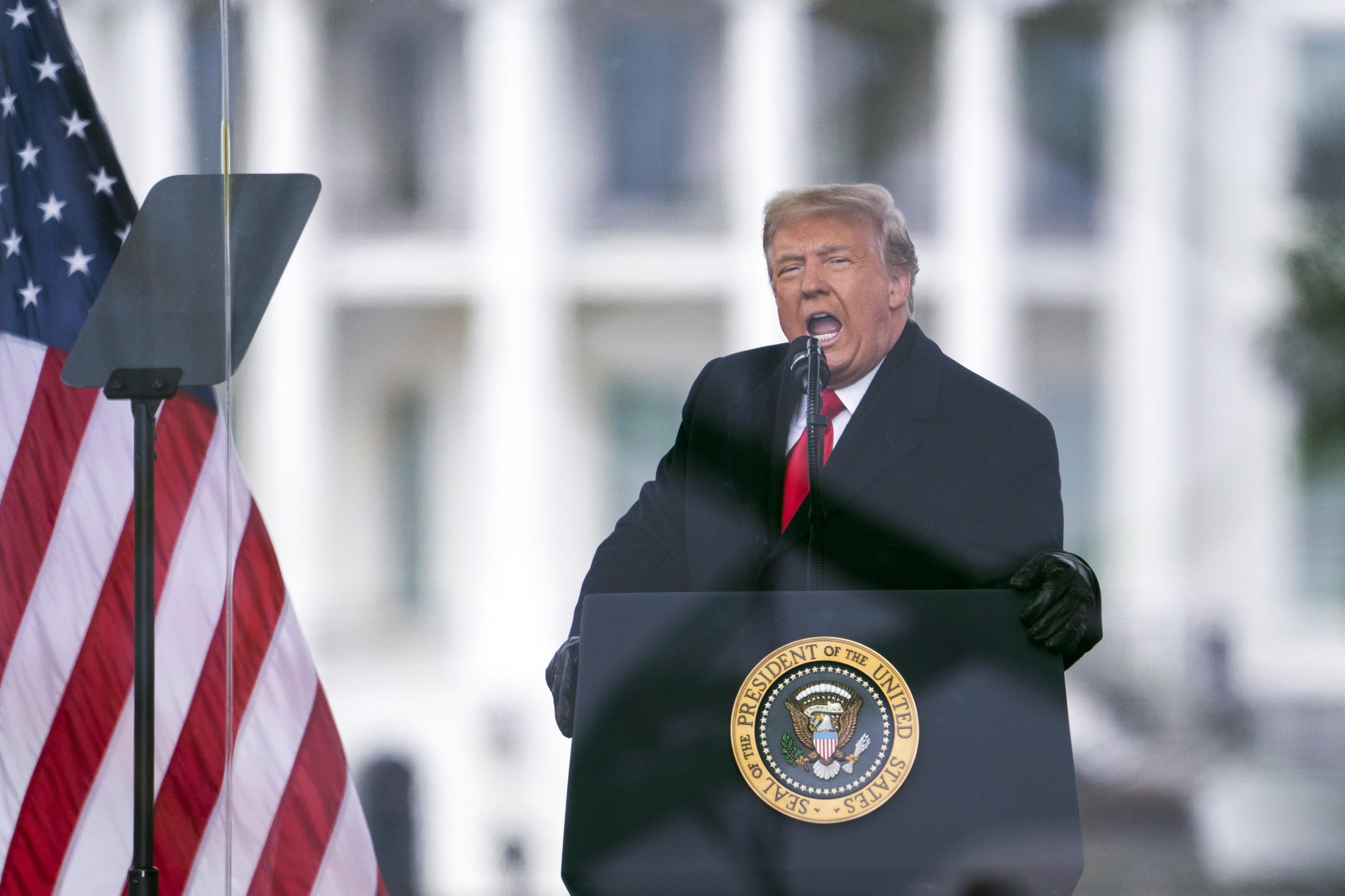 Trump announces launch of media company, social media site