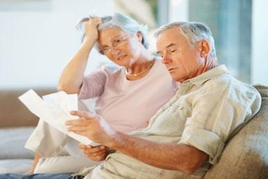 Many older couples rely on the pension income of one person - often the man. Should that person die first, the other person can therefore be left in a difficult position financially. <br> One way to prevent financial hardship for the surviving person is to take out a joint life annuity that will continue to pay out up to 67% of the original payments to the surviving partner should one of them die.<br /> <br> The disadvantage of this approach, however, is that the rate you receive will be lower. Again, the Pensions Advisory Service on 0845 601 2923 is a useful first port of call if you are unsure what to do.