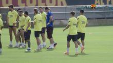 Barcelone - Dembélé fait son retour dans le groupe