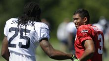 Are Richard Sherman trade talks related to Seattle's Super Bowl loss?