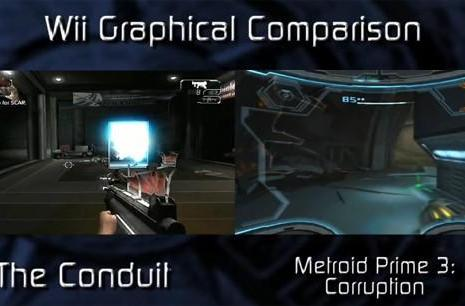 Compare The Conduit's graphics to other Wii FPS titles [update]