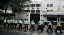 Staff Leaving US Chengdu Consulate Under High Security as Deadline Looms amid Diplomatic Row