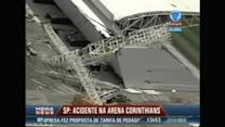 Three killed in crane collapse at World Cup stadium in Brazil