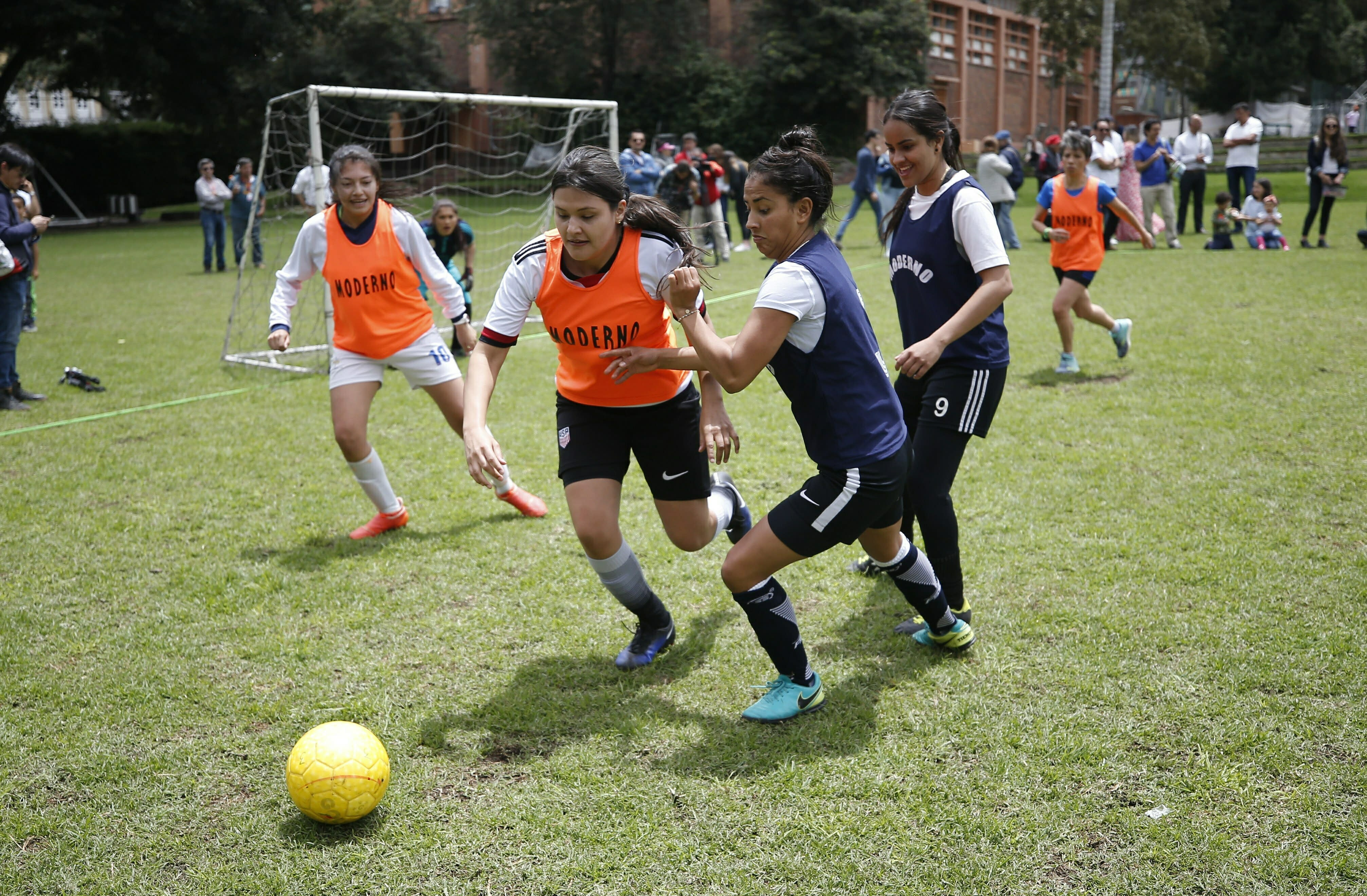 8d0c8124656 Colombia s female soccer players fight for level field
