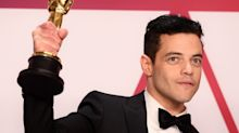 Rami Malek Fell Off the Stage After Oscar Win, Treated by Paramedics