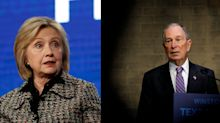 Hillary Clinton 'wants back in' as Bloomberg campaign tries to quiet speculation she could be his VP pick