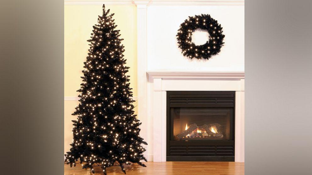 Black Christmas trees are a hot holiday decorating trend (really)