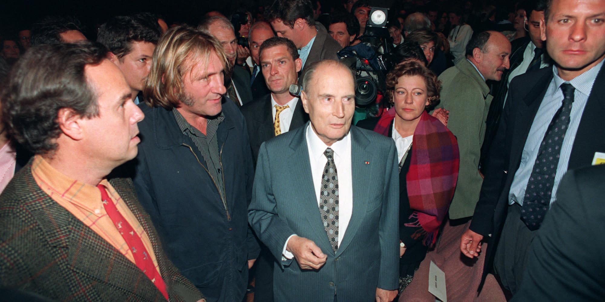 """Frédéric Mitterrand sur sa relation avec son oncle François : """"Je ne l'intéressais pas beaucoup"""""""