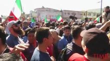 'Out! Out!' Tijuana Protesters Call for Migrant Caravan to Leave
