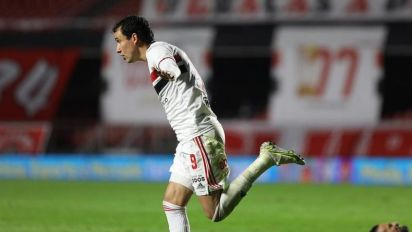 Pablo comemora vitória do São Paulo na Copa do Brasil: 'Boa vantagem'