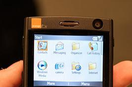 Orange shows small army of Windows Mobile devices
