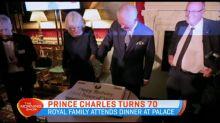 Royal family celebrates Prince Charles' 70th birthday