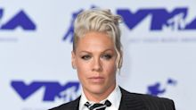 Pink jokes she 'wants to stab husband with a fork' as she opens up about reality of marriage