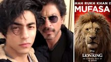 SRK & Son Aryan as Mufasa & Simba in 'The Lion King' Hindi