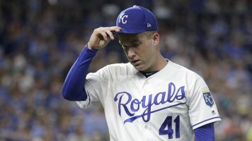 Royals pitcher reveals his private pain