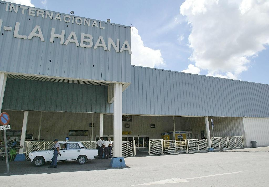 Communist Cuba's aging airports are under scrutiny after decades of isolation from the United States during which only charter flights were permitted (AFP Photo/Adalberto Roque)