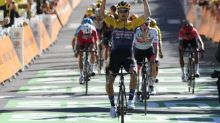 Tour de France - Tour de France: Primoz Roglic remporte la quatrième étape, Julian Alaphilippe toujours en jaune