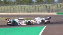 Drama um de Silvestro - Mercedes gewinnt verrücktes Rennen