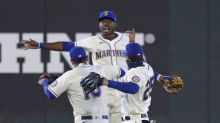 Sheffield shuts down Rockies for 1st W as Mariners win 5-3