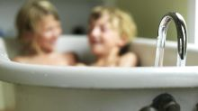 How old is too old to bathe with your kids?