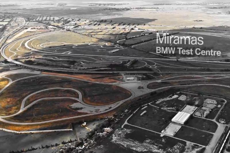 選在BMW的測試中心法國Miramas賽道,全新世代Z4呼之欲出。
