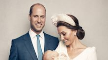 Kate Middleton Has Never Looked More in Love Than in Prince Louis' Christening Portraits