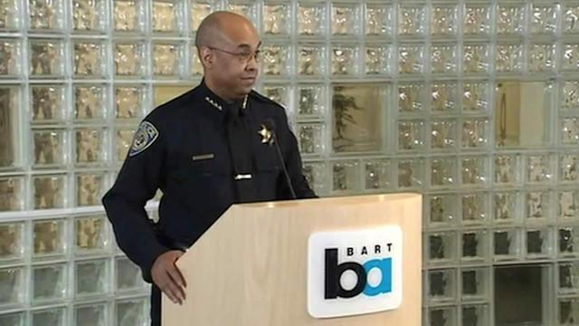 BART police chief talks about officer's shooting