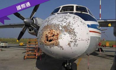 飛機破大洞 全部人奇蹟活