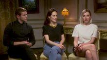Downton Abbey: Exclusive Interview With Michelle Dockery, Laura Carmichael & Allen Leech