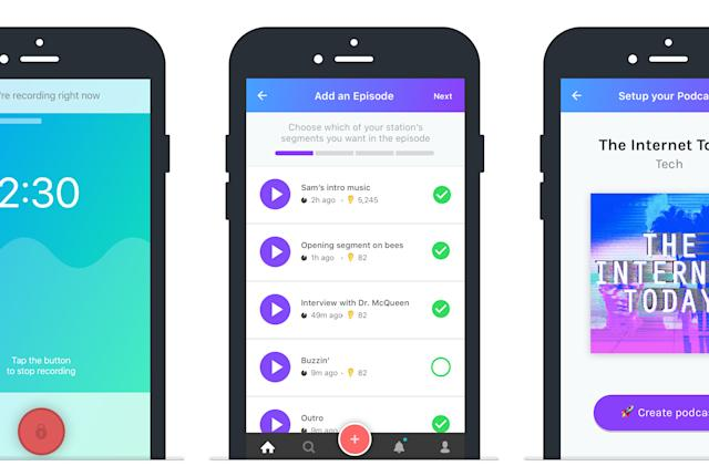 Anchor lets you record and publish podcasts from your phone