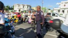 Cuba: la mode des scooters électriques face au manque d'essence