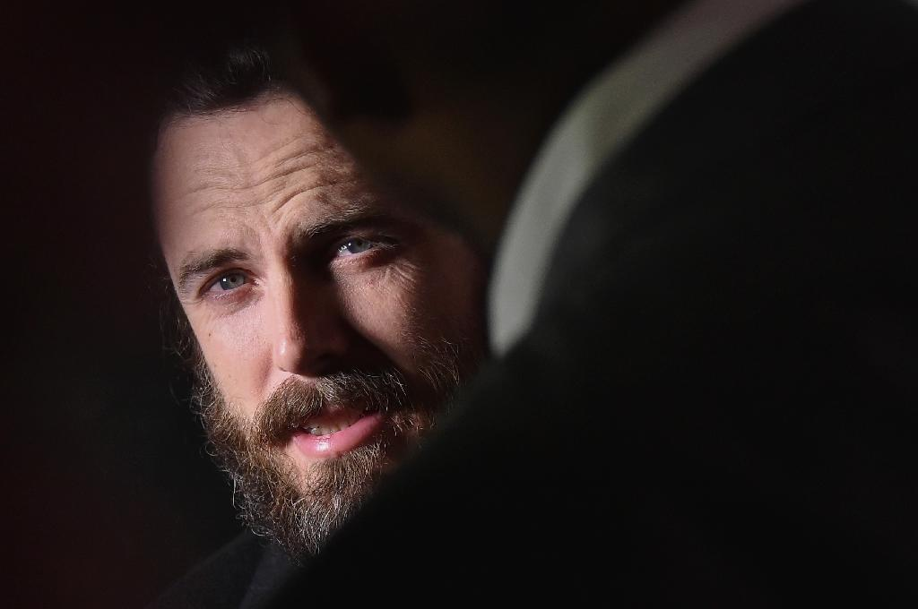 """Casey Affleck plays a a depressive loner in """"Manchester by the Sea"""", which is expected to fare well at this year's Oscars (AFP Photo/Mike Coppola)"""