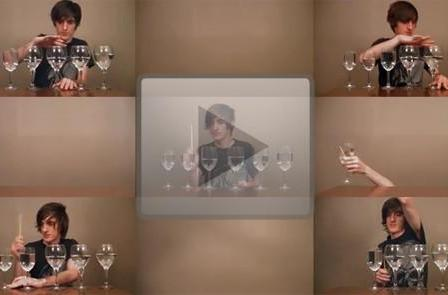 YouTube musician covers Zelda's Song of Healing on wine glasses