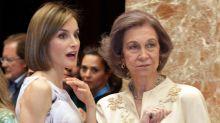 El vídeo entero de Letizia y doña Sofía que explica perfectamente sus reacciones