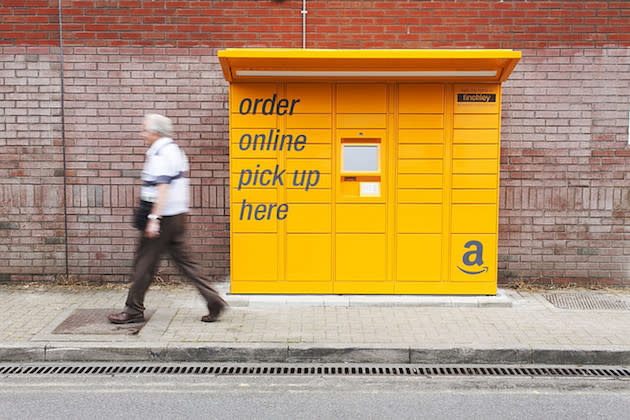 Amazon now lets Londoners pick up packages from Tube station lockers