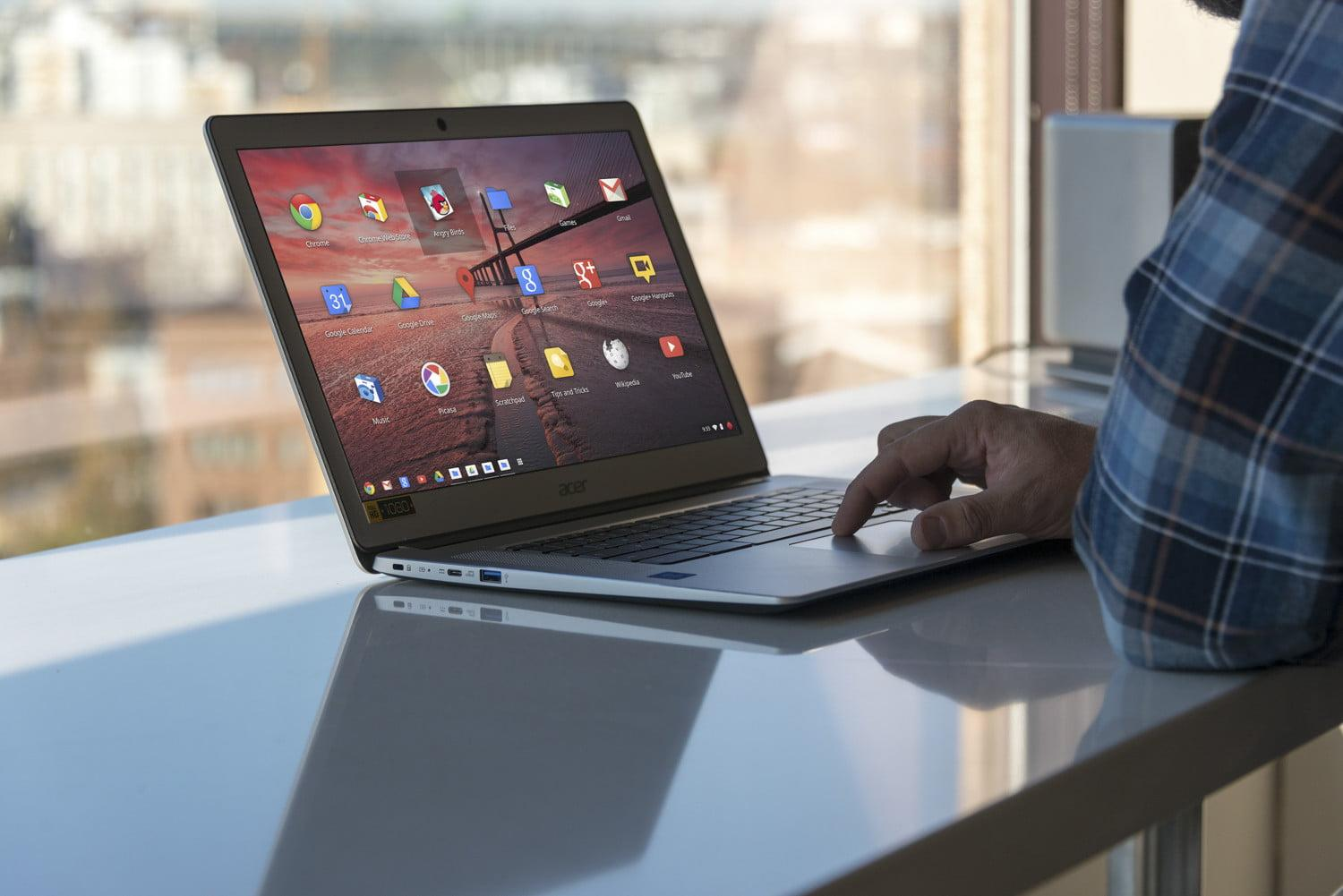 How to right-click on a Chromebook