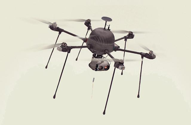 Boston company launches spy drone that can fly indefinitely