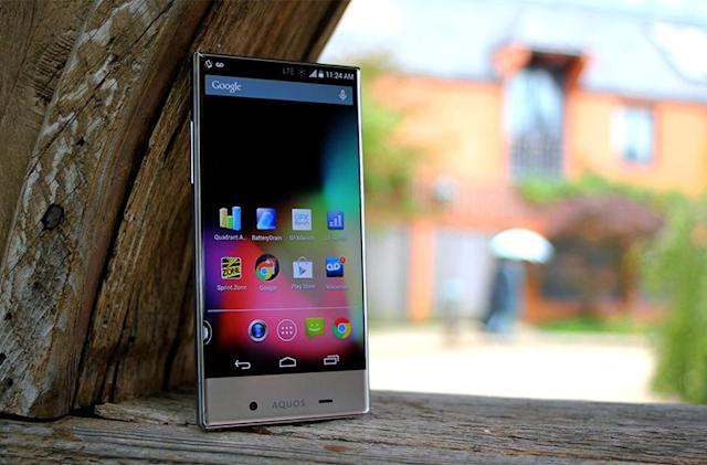 Sharp AQUOS Crystal review: mid-range brains meet striking looks