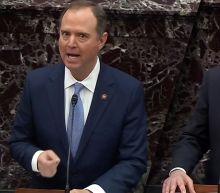 Schiff mauls Cipollone on impeachment trial's first day